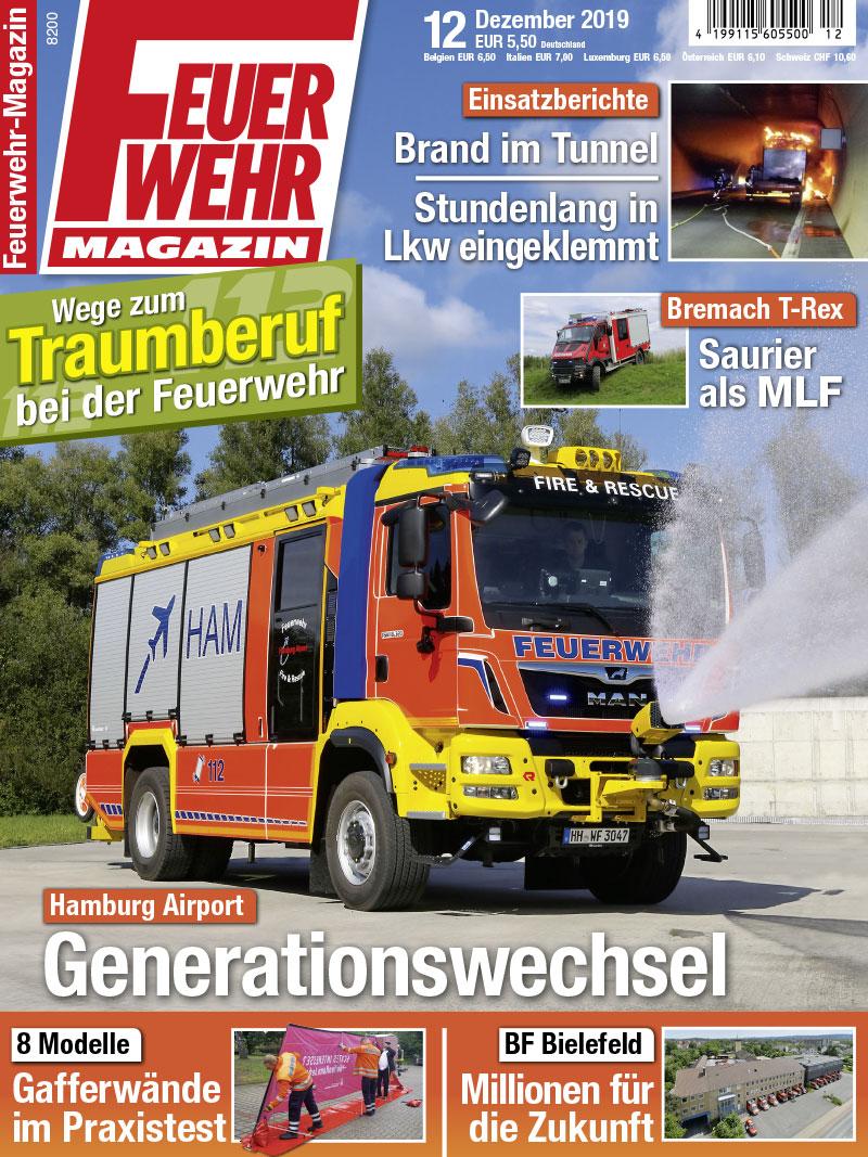 Produkt: Feuerwehr-Magazin 12/2019