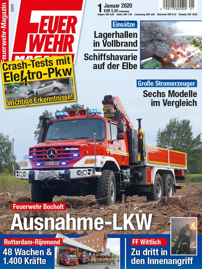 Produkt: Feuerwehr-Magazin 01/2020 Digital