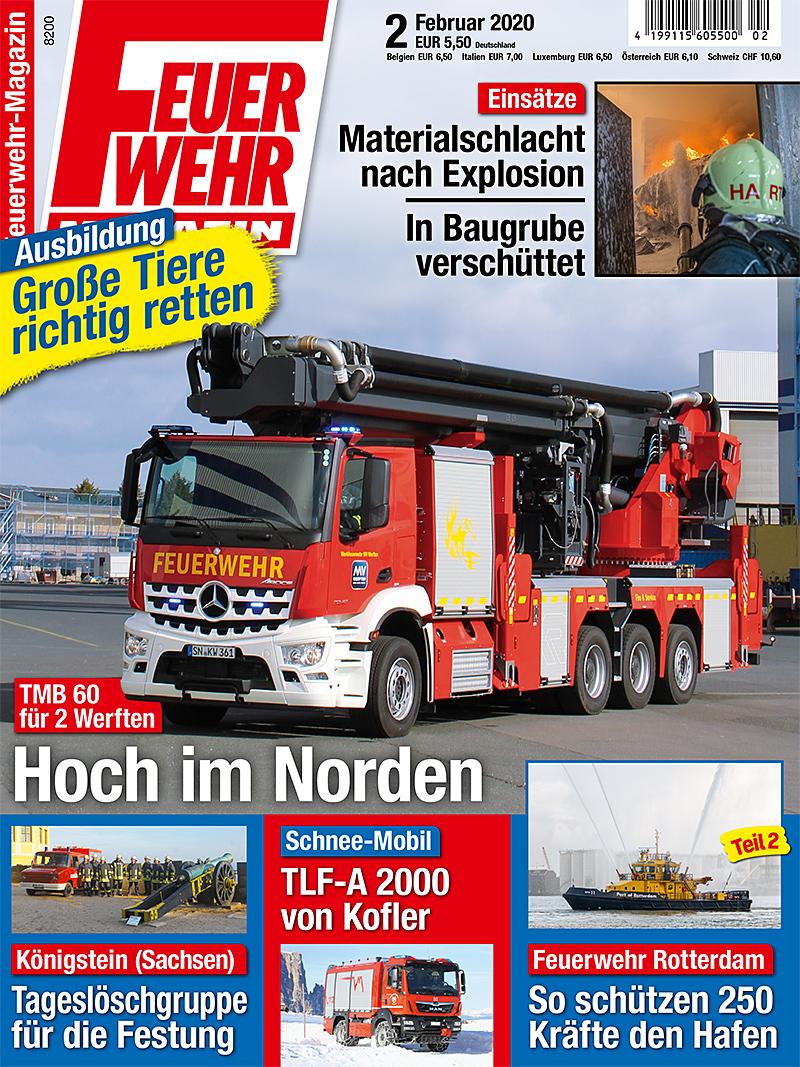 Produkt: Feuerwehr-Magazin 02/2020