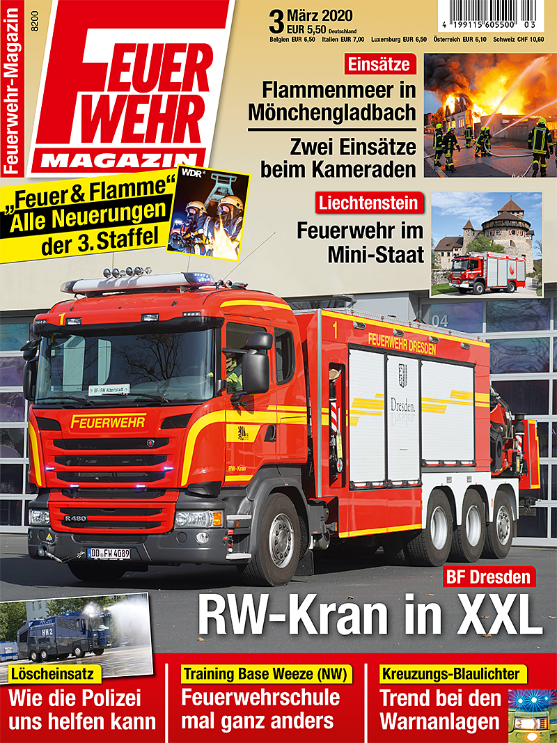 Produkt: Feuerwehr-Magazin 03/2020 Digital