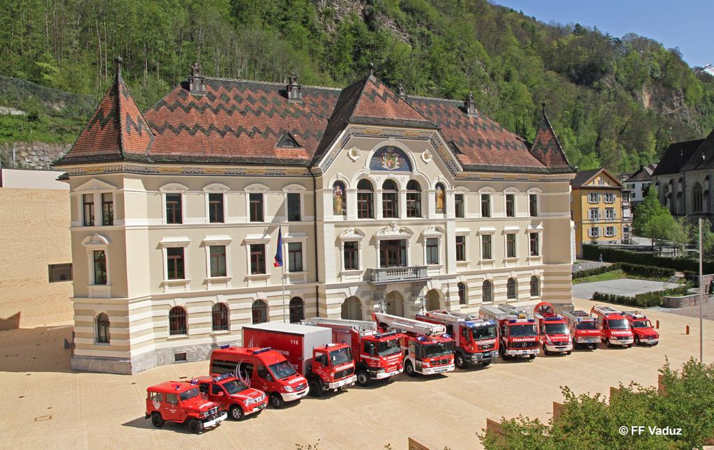 Feuerwehr Liechtenstein Reportage