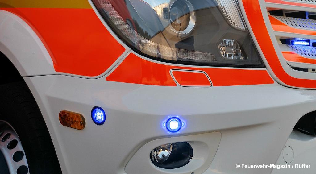 Kreuzungsblitzer Intersection Lights Feuerwehr Service