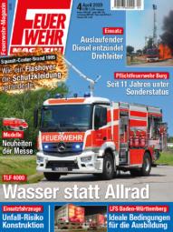 Produkt: PDF-Download: Feuerwehr-Magazin 04/2020