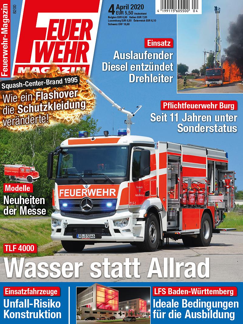 Produkt: Feuerwehr-Magazin 04/2020 Digital