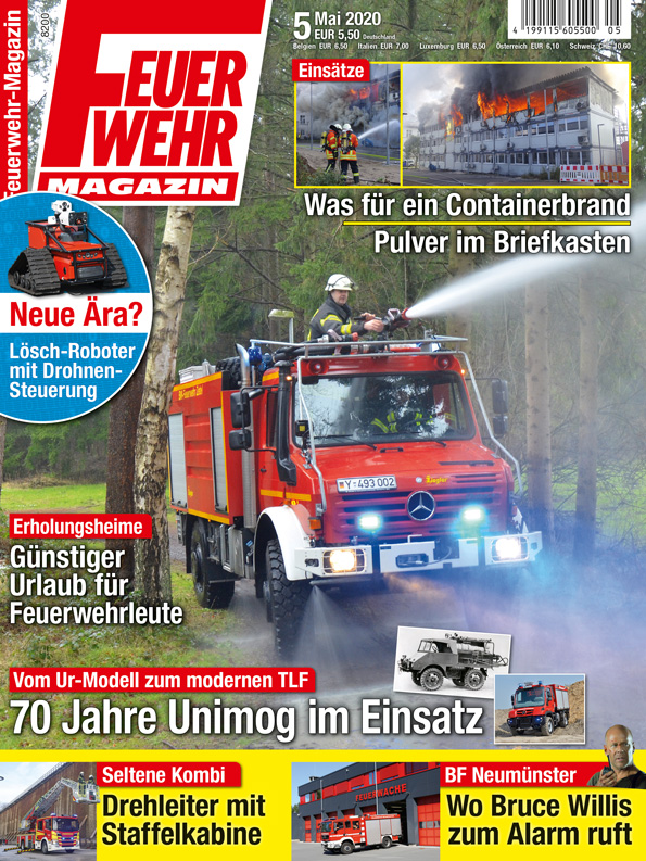 Aktuelle Ausgabe: Feuerwehr-Magazin