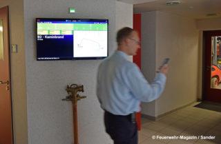 Feuerwehr Alarmierung durch App mit Einsatzmonitor