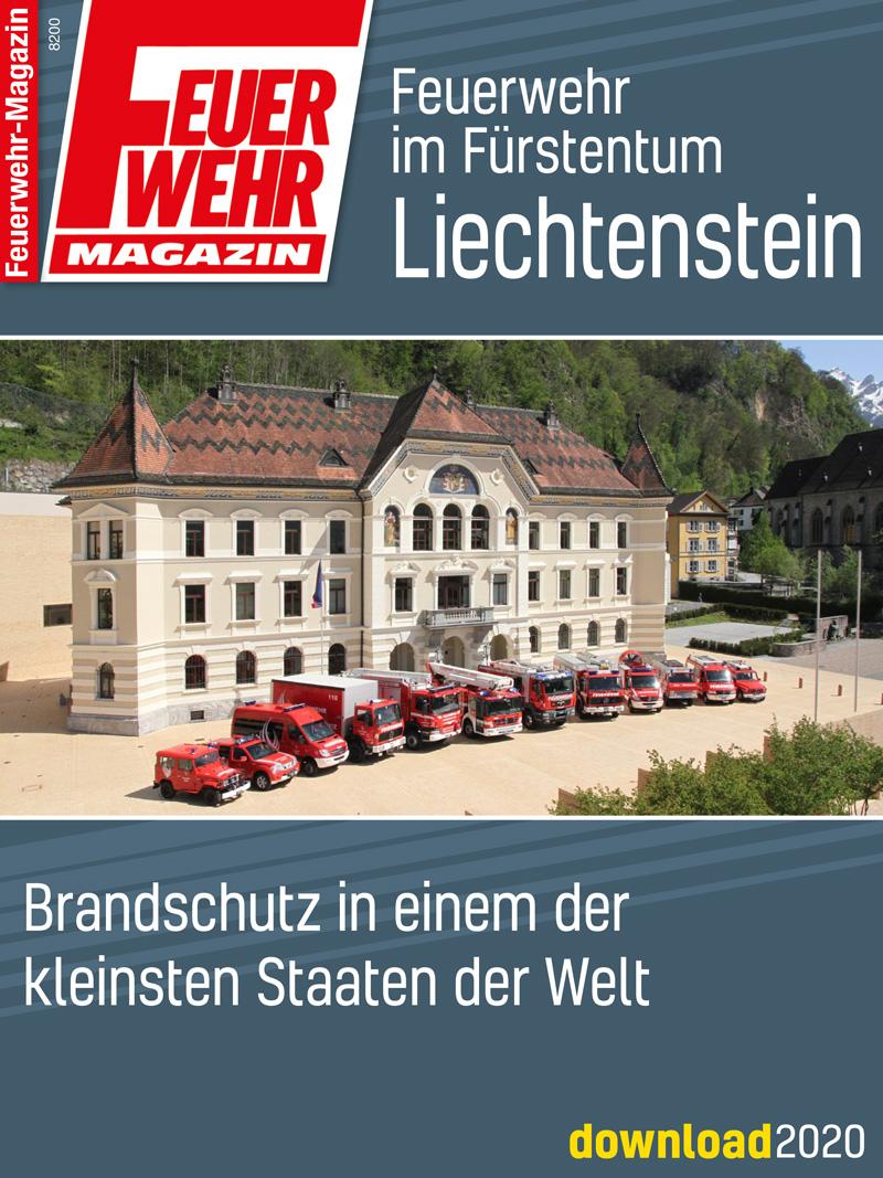 Produkt: Download Feuerwehr im Fürstentum Liechtenstein