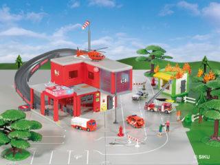 Feuerwehr Spielzeug Kinder Feuerwache Siku