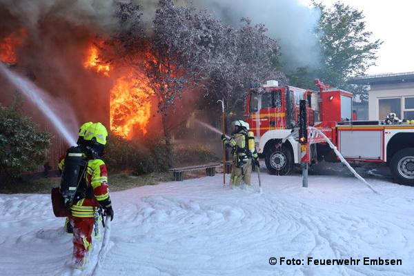 Großbrand Embsen