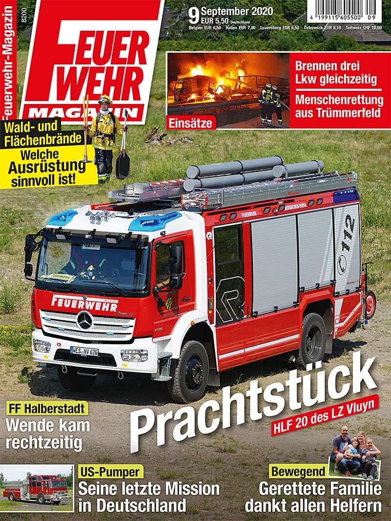 Produkt: Feuerwehr-Magazin 09/2020