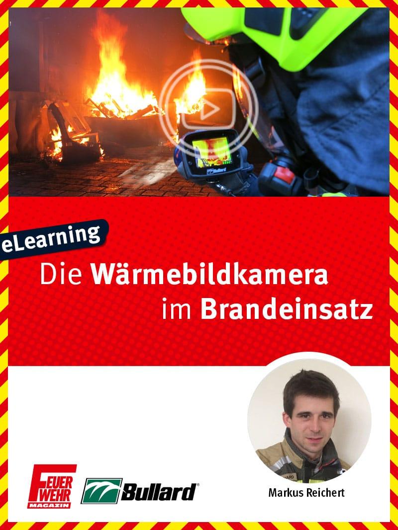 Produkt: Die Wärmebildkamera im Brandeinsatz