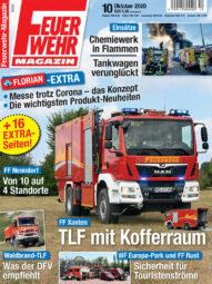 Produkt: PDF-Download: Feuerwehr-Magazin 10/2020