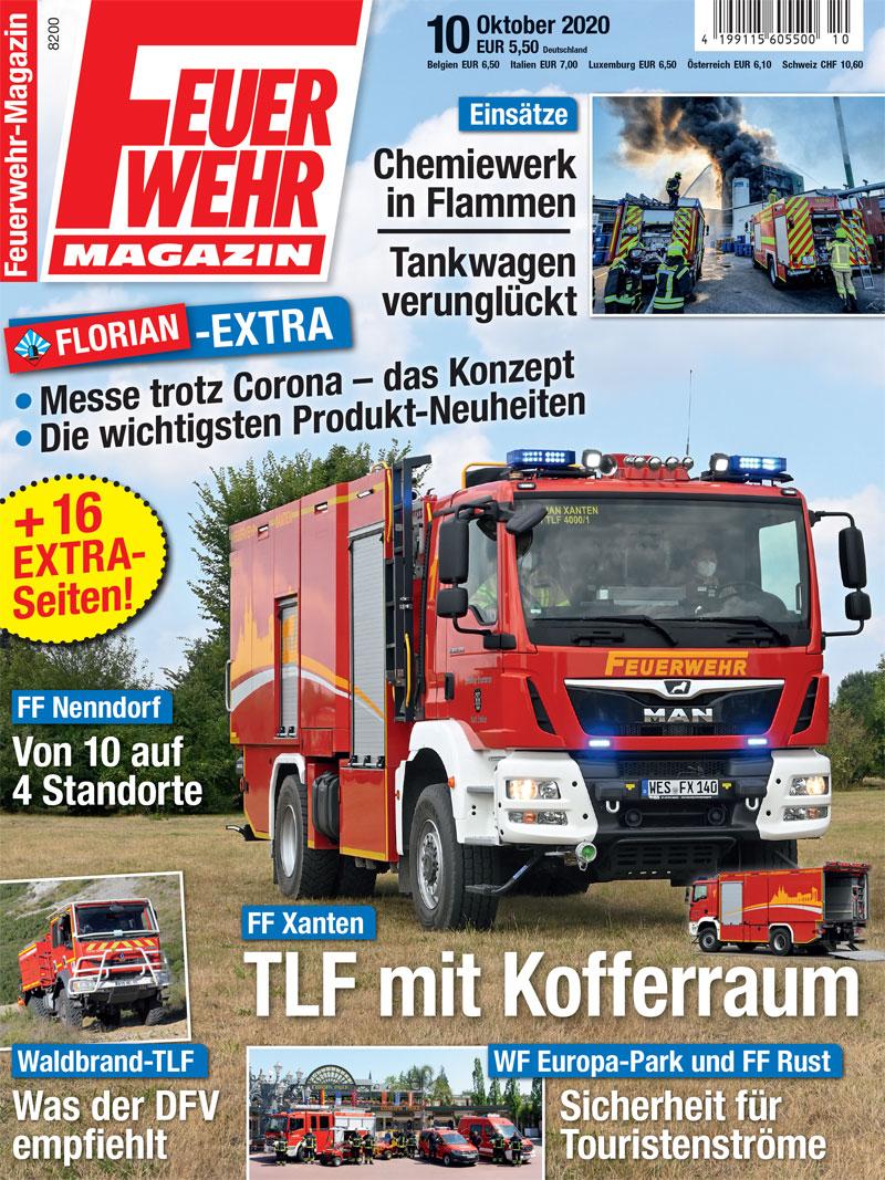 Produkt: Feuerwehr-Magazin 10/2020