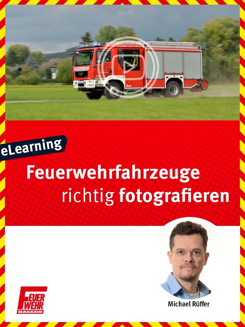 Produkt: Feuerwehrfahrzeuge richtig fotografieren