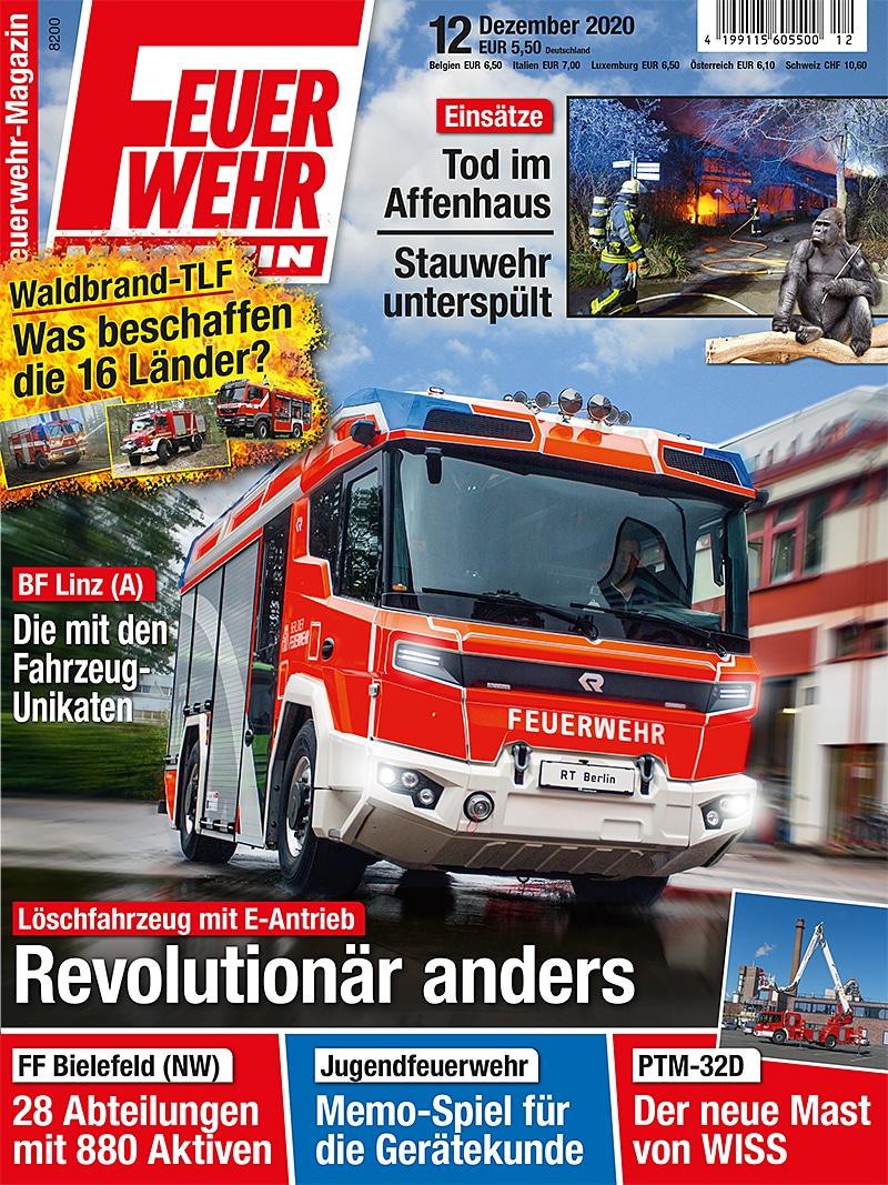 Produkt: Feuerwehr-Magazin 12/2020