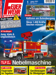 Produkt: PDF-Download: Feuerwehr-Magazin 01/2021
