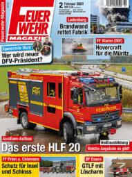 Produkt: PDF-Download: Feuerwehr-Magazin 02/2021
