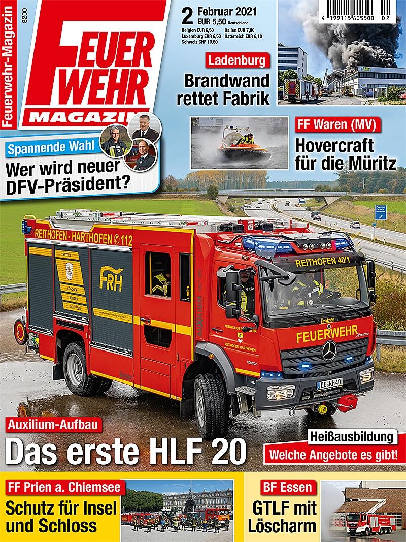 Produkt: Feuerwehr-Magazin 02/2021