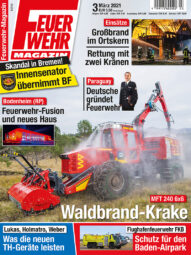 Produkt: PDF-Download: Feuerwehr-Magazin 03/2021
