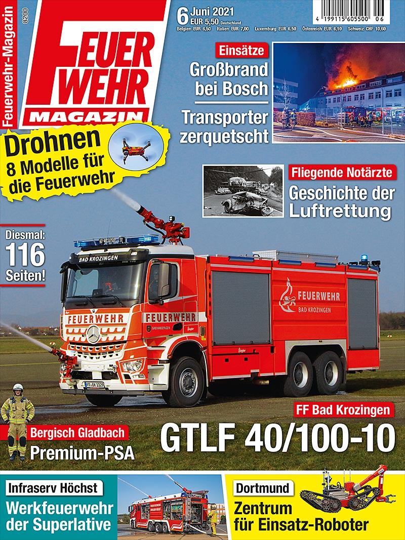 Produkt: Feuerwehr-Magazin 06/2021