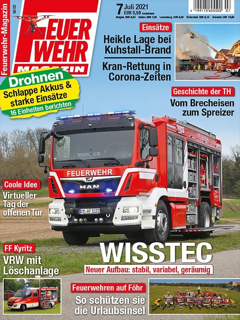 Produkt: Feuerwehr-Magazin 07/2021