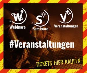 Tickets, Seminar, Webinare, Veranstaltungen findest Du bei uns