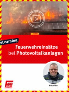 Produkt: Feuerwehreinsätze bei Photovoltaikanlagen