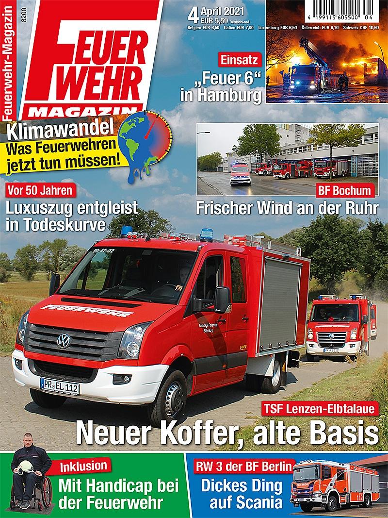 Produkt: Feuerwehr-Magazin 04/2021