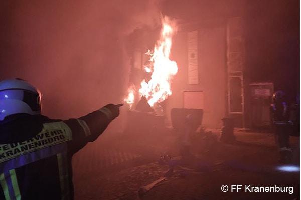 Brand in Kranenburg