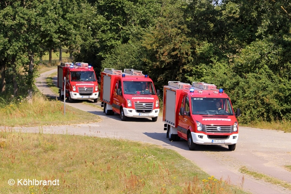 TSF Feuerwehr Lenzen Elbtalaue