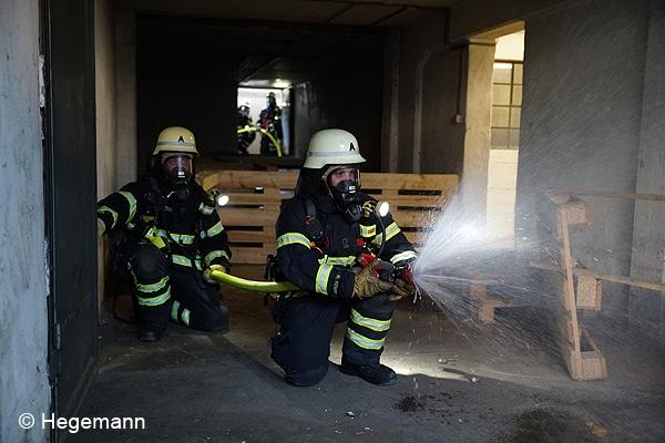 Vierertrupp Feuerwehr Walldorf