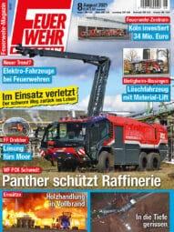 Produkt: Feuerwehr-Magazin 08/2021
