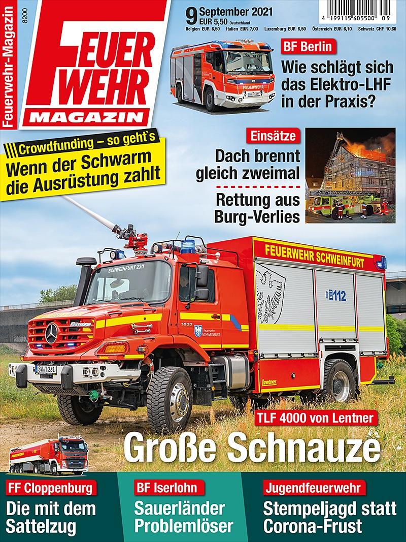 Produkt: Feuerwehr-Magazin 09/2021