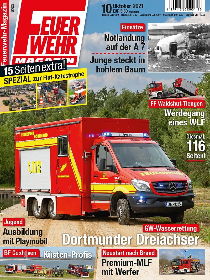 Produkt: Feuerwehr-Magazin 10/2021