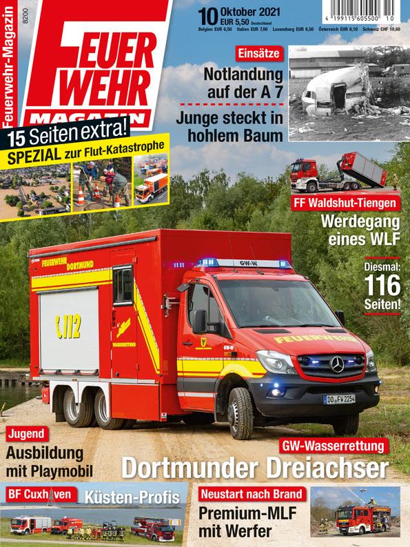 Feuerwehr-Magazin 10/2021